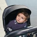 3 en 1 luxe bébé poussette bébé poussette panier siège auto landaus pliables
