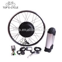 Kit de conversión de bicicleta eléctrica del motor del cubo de 500 W bafang con batería de tubo hacia abajo