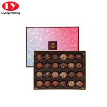 luxury chocolate packaging box truffle box desgin