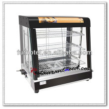 K428 Calor de exibição de alimentos elétricos de luxo moderno
