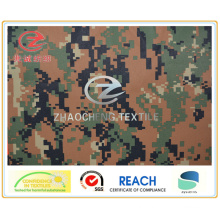 240t Poly Pongee Digital Camouflage Printing Fabric (ZCBP128)