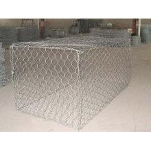 Maille hexagonale pour cage à poulet et gabion