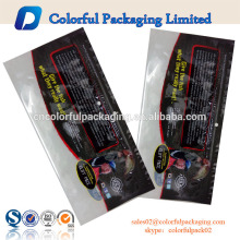 Customized soft plastic bait bags for fishing wholesale with ziplock plastic fishing lure bags