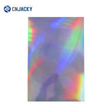 Superposiciones personalizadas del PVC del holograma Superposiciones laminadas Película