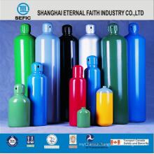 Seamless Steel High Pressure Argon Gas Cylinder (ISO9809 219-40-150)