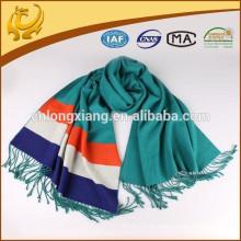 Fábrica Venta al por mayor 100% Viscosa Material Plain Pashmina Shawl