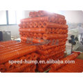 Low Cost Orange HDPE Plastic Welded Wire Mesh Fencing