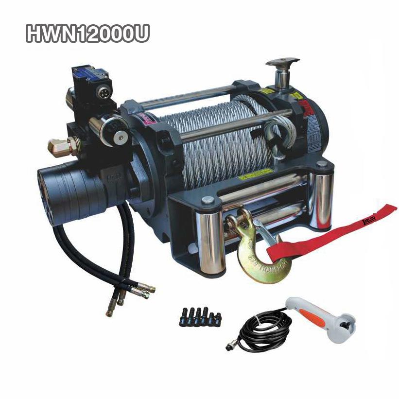 12000lb Hydraulic Towing Winch