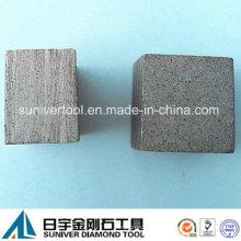 Único corte segmento de diamante para cortar a laje grande do granito