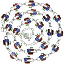 Correntes de liga de zinco para vestuário -A5269