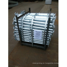 Barandilla de acero galvanizada para escalera