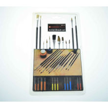 oils and acrylics artist brushes bristle,kids professional drawing plastic paint brushes