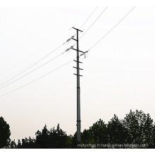 Multi-Circuits Monopole Tower Power Transmission Pole
