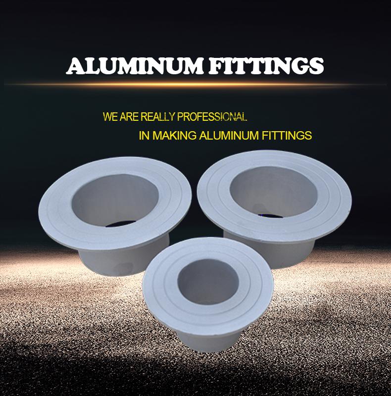 aluminum stub end
