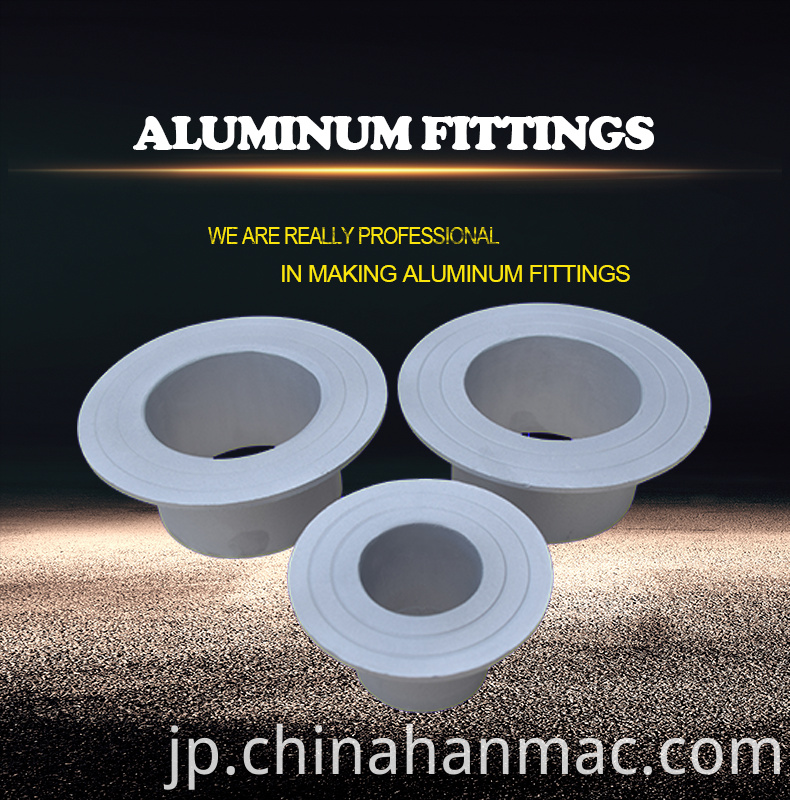 aluminum stub end fitting BW