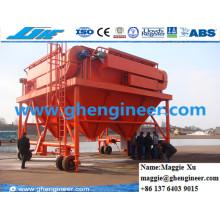 40 Cbm Port Handling Maschine Staub Collector Mobile Trichter