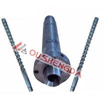 Винт с одной цилиндрической головкой 90 мм для экструзионной линии