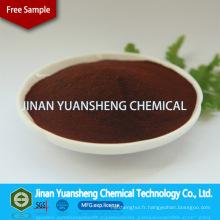 Sel de sodium d'acide lignosulfonique de suppression de la poussière SLS
