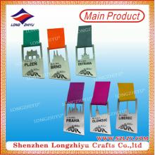 Medalla de metal de escalada personalizada Medallion Competition Awards