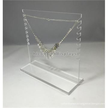 Jewellery Shop Einfache Design Creative Handmade Clear Acryl Double Side Commercial Schmuck Display