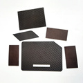 high quality customized dimension and thickness 1mm 2mm carbon fiber plate
