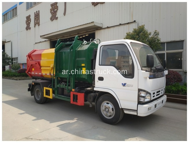 ايسوزو 600P SIDE LOADER TRASH TRUCKS