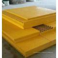 Стеклопластиковые формованные решетки высокопрочные frp Скрежеща для химического завода