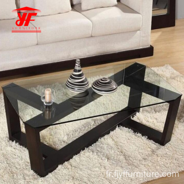 Dessus en verre Designs Center Table Online