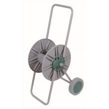 Chariot-dévidoir haute qualité deux roues acier jardin eau
