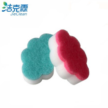 Esponja de espuma de melamina / esponja de forma de nuvem