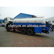 Dongfeng kinland 6x4 18 CBM vacuum sewage suction truck