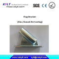 Galvanizing Die Casting Flag Holder/Bracket/Socket