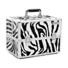 Boîtier cosmétique en aluminium Zebra Panel (HX-L0925)