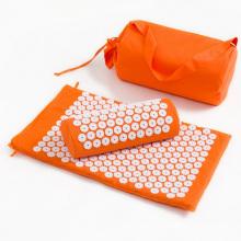 Комбинированный массажный коврик с шипами для расслабления мышц, подушка