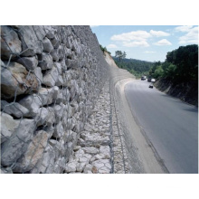 Errosion Control Gabion Wall Construction