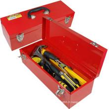 OEM de stockage de boîte à outils en métal de plateaux simples d'outils à main