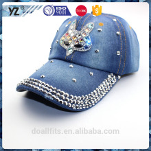 Diamant juif avec lemmy cowboy personnalisé logo baseball cap made in china
