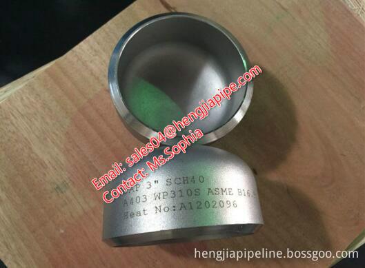 3'' SCH40 BW pipe cap