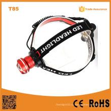 T85 Xml T6 светодиодные высокой мощности кемпинга фар аккумуляторные светодиодные фары
