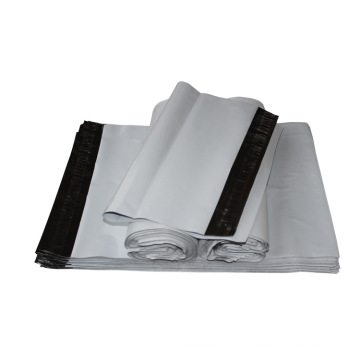 [Factory]White Poly Mailer Bag/Courier Plastic Bag with Strong Self Stick