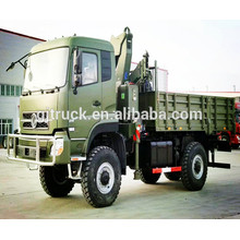 6X6 Dongfeng military van truck / off road truck / 6*6 Dongfeng military cargo truck/military dump truck/military tipper truck