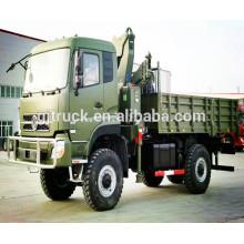 6X6 Dongfeng military van truck / off road truck / 6*6 Dongfeng military cargo truck/military dump truck/military tipper truck