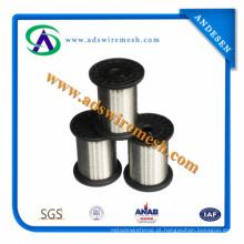 0.02--0.1mm 304 316 316L Fio de Aço Inoxidável