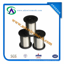 0,02-0,1 мм 304 316 316L Проволока из нержавеющей стали