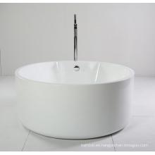 Pequeña bañera independiente de acrílico