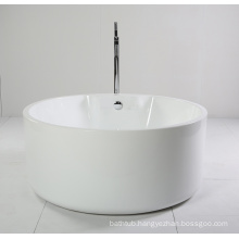 Round Small Acrylic Freestanding Bathtub