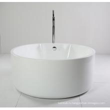 Круглая малая акриловая автономная ванна