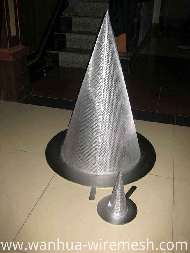 Cone shaped filter tube to make filter equipment (1)