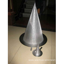 Cone shaped filter tube to make filter equipment