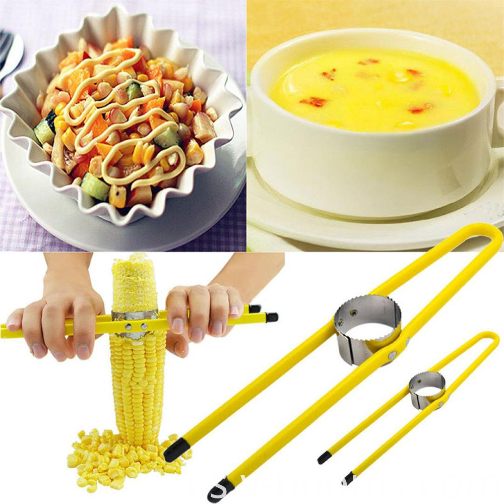 Yellow Paint Stainless Steel Corn Thresher